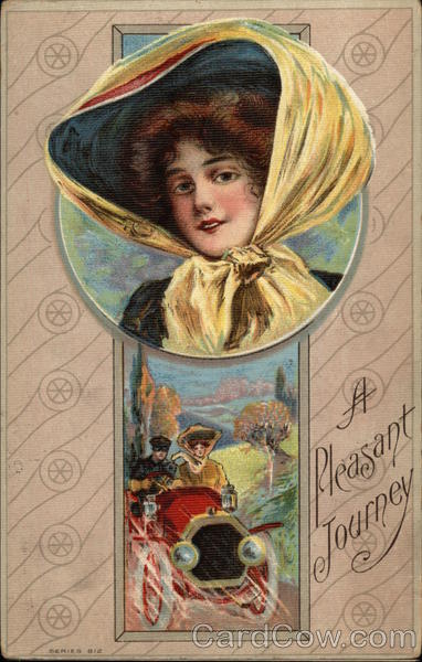 A Pleasant Journey with Woman in Bonnet Women