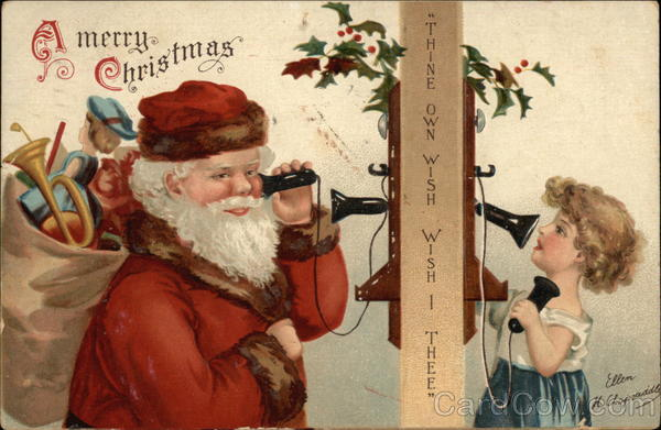 A Merry Christmas - Thine Own Wish, Wish I Thee Santa Claus