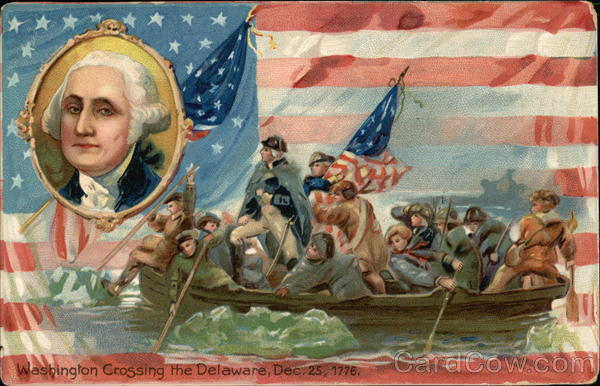 Washington Crossing the Delaware, December 25, 1776