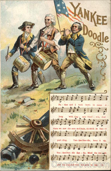 Yankee Doodle with Fife & Drummers Patriotic