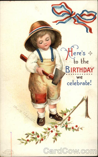 Here's to the Birthday we Celebrate - July 4th Ellen Clapsaddle