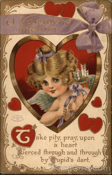 A Valentine Offering with Cupid
