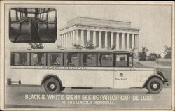Black & White Sight Seeing Parlor Car De Luxe