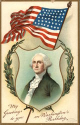 My Greetings to You on Washington's Birthday