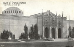 The Panama-Pacific International Exposition - San Francisco, 1915