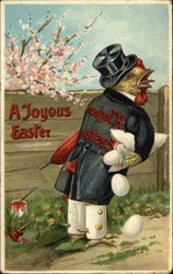 A Joyous Easter - Chicken and Eggs