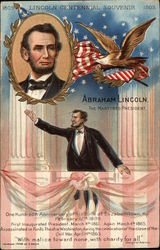 Abraham Lincoln. The Martyred President Postcard