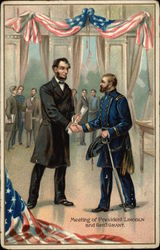 Meeting of President Lincoln & General Grant