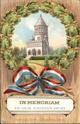 Wreath, With View of Garfield's Tomb in Cleveland, Ohio