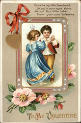 To My Valentine with Children Dancing