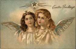 Easter Greetings with Angels