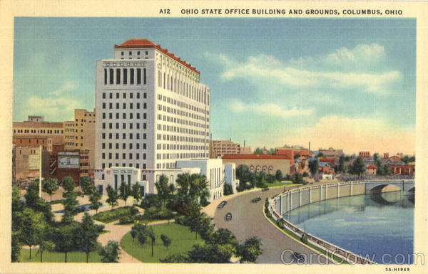 Ohio State Office Building And Grounds Columbus