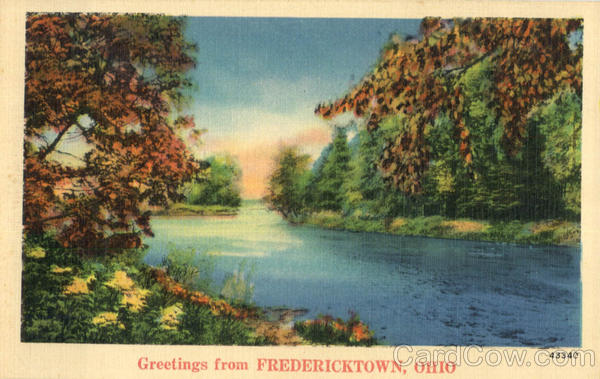 Greetings From Fredericktown Ohio