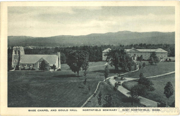 Sage Chapel And Gould Hall, Northfield Seminary East Northfield Massachusetts