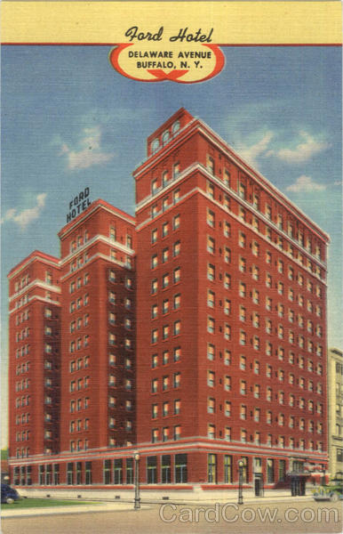 Ford Hotel, Delaware Avenue Buffalo New York