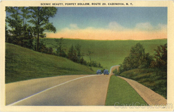 Scenic Beauty Pompey Hollow, Route20 Cazenovia New York