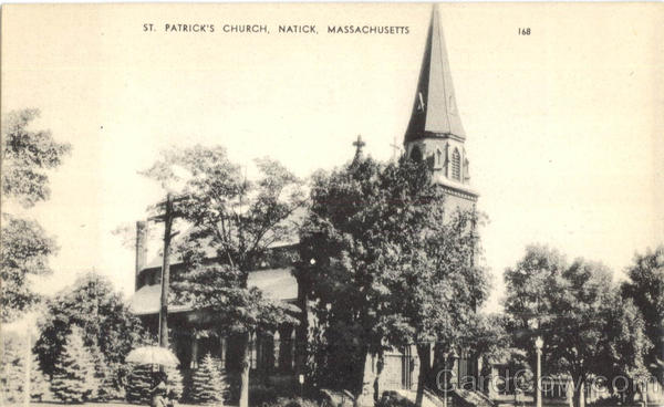 St. Patrick's Church Natick Massachusetts