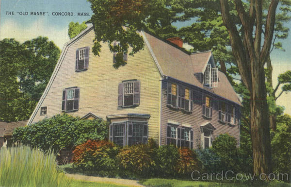 The Old Manse Concord Massachusetts