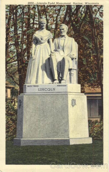 Lincoln -Todd Monument Racine Wisconsin