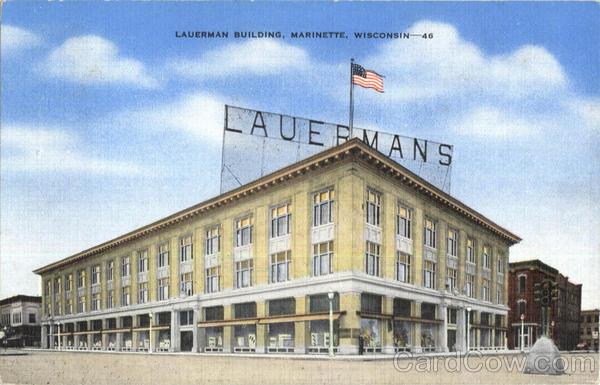 Lauerman Building Marinette Wisconsin