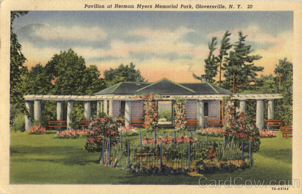 Pavilion At Herman Myers Memorial Park Gloversville New York