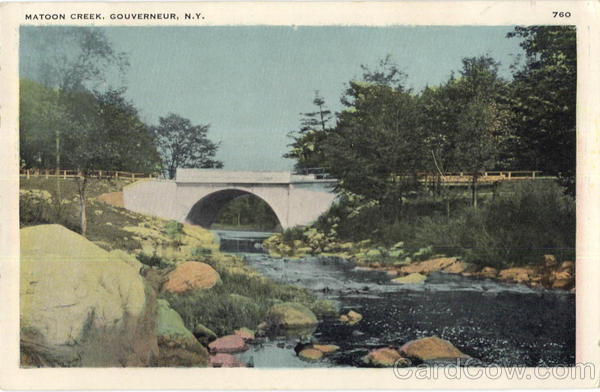 Matoon Creek Gouverneur New York