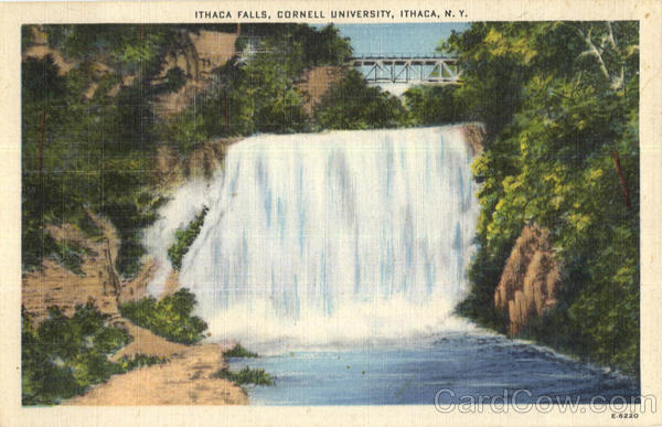 Ithaca Falls, Cornell University New York