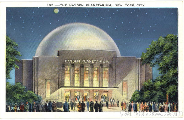 The Hayden Planetarium New York City