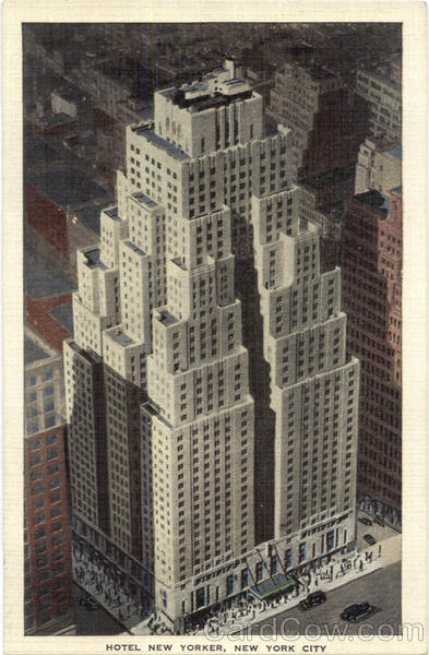 Hotel New Yorker, 34th Street at 8th Avenue New York City