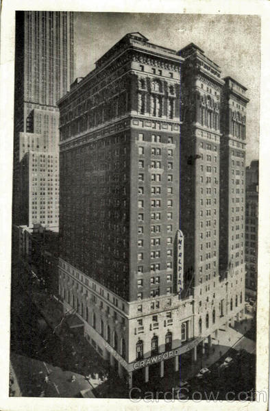 Hotel Mcalpin, 34th Street at Broadway New York1