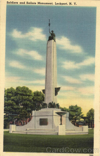 Soldiers And Sailors Monument Lockport New York
