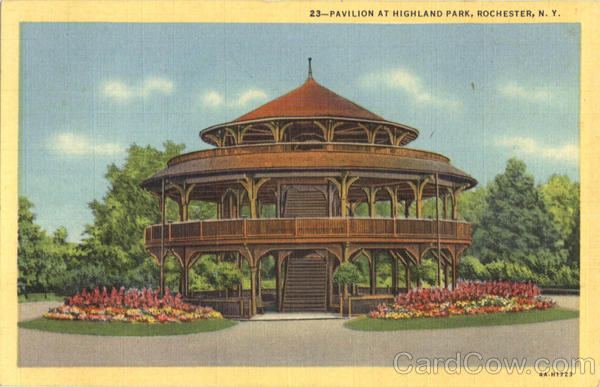 Pavilion At Highland Park Rochester New York