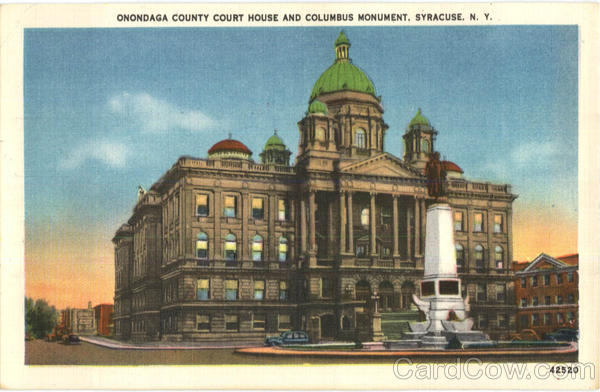 Onondaga County Court House Syracuse New York
