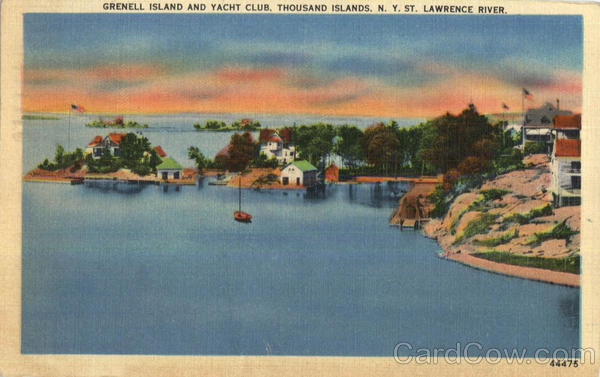 Grenell Island And Yacht Club Thousand Islands New York