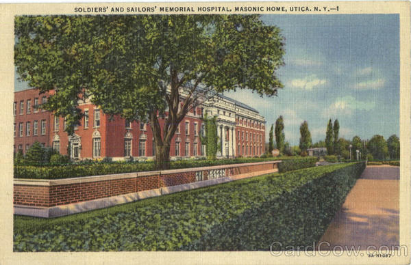 Soldiers And Sailors Memorial Hospital, Masonic Home Utica New York