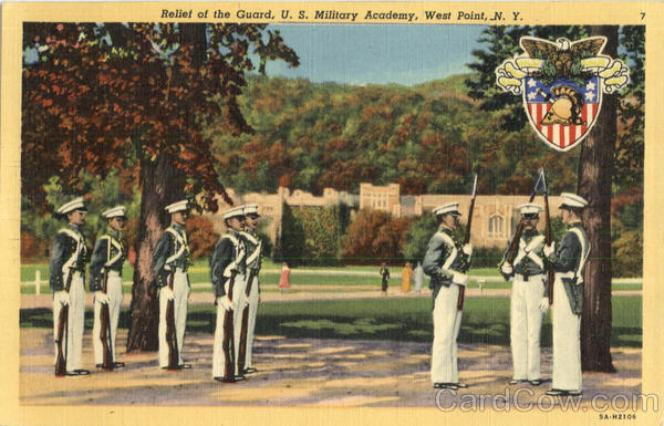 Relief Of The Guard , U. S. Military Academy West Point New York