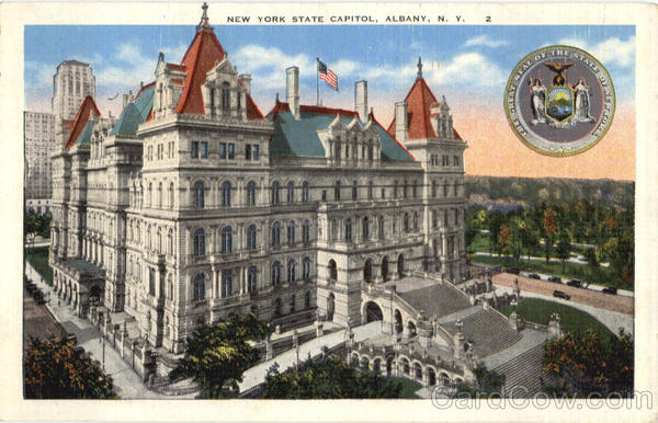 New York State Capitol Albany