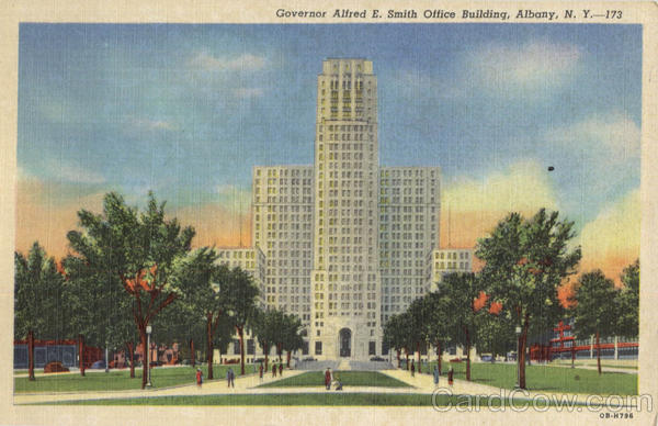 Governor Afred E. Smith Office Building Albany New York