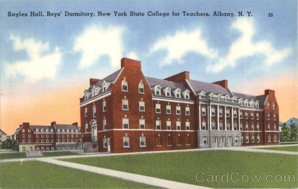 Sayles Hall Boy's Dormitory New York State College For Teaches Albany