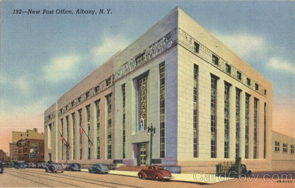 New Post Office Albany New York