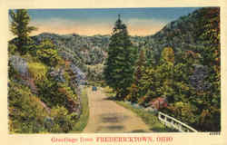 Greetings From Fredericktown Postcard