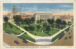 State Capitol Park Showing New Building Group