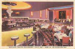 Buffalo's Theatre Restaurant Postcard