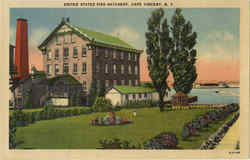 United States Fish Hatchery Postcard