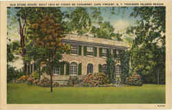 Old Stone House Postcard