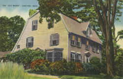 The Old Manse Postcard