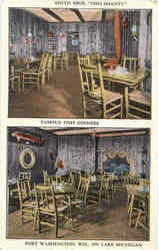 Smith Bros. Fish Shanty Restaurant Postcard