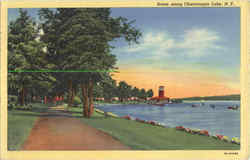 Scene Along Chautauqua Lake