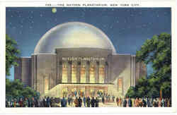 The Hayden Planetarium