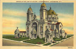 Shrine Of Our Lady Of Victory, Father Baker's Postcard